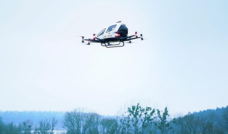 Китайские беспилотные аэротакси появятся в европейском небе — Австрия одобрила их испытательные полёты