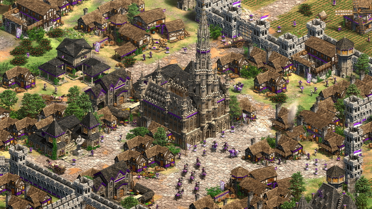 26 января Age of Empires II: Definitive Edition получит первое расширение  Lords of the West