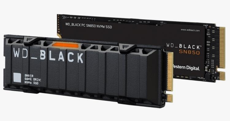 Western Digital выпустила в России WD_Black SN850 — свой самый быстрый игровой SSD