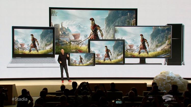 В Cyberpunk 2077 теперь можно поиграть на iPhone: облачный игровой сервис Google Stadia стал доступен на iOS