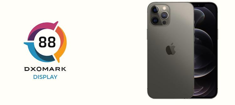 iPhone 12 Pro Max почти догнал Samsung Galaxy Note 20 Ultra в рейтинге дисплеев DxOMark
