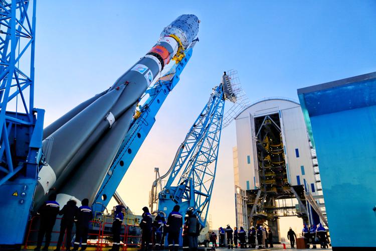 Ракету «Союз-2.1б» со спутниками OneWeb успешно запустили с Восточного