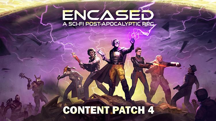 Koch Media выпустит отечественную изометрическую пошаговую RPG Encased в 2021 году