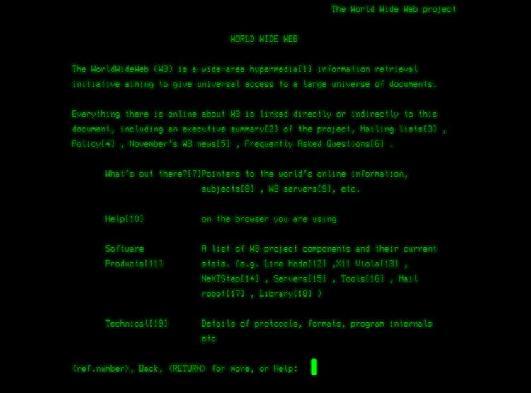 Первому веб-сайту сегодня исполнилось 30 лет