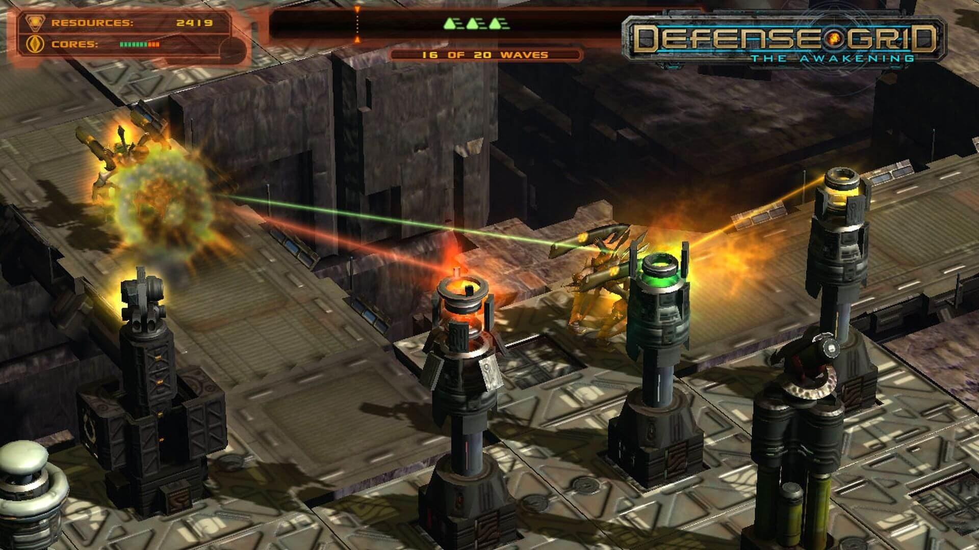 В EGS началась раздача Defense Grid: The Awakening — игры в жанре Tower Defense