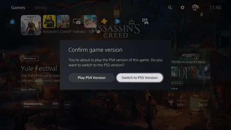 Sony исправила проблему интерфейса PS5, из-за которой геймеры ошибочно запускали PS4-версии игр