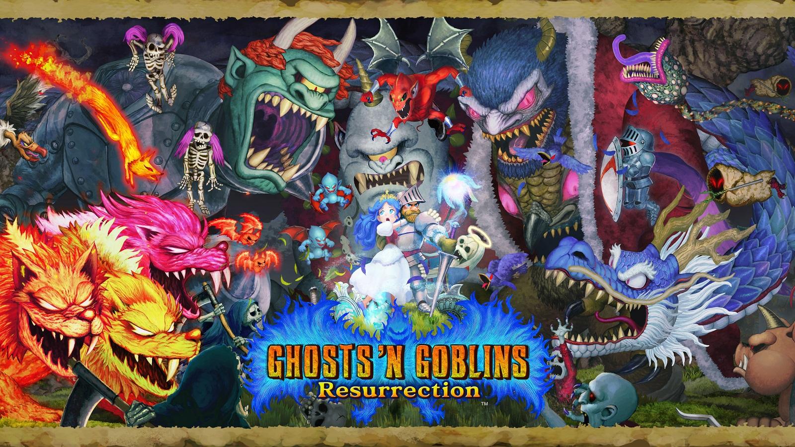 Видео: Capcom показала 10 минут игрового процесса перезапуска Ghosts 'n Goblins