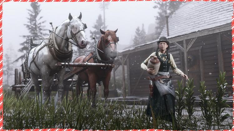 В Red Dead Online начались праздники: скидки, новые события и подарки для игроков