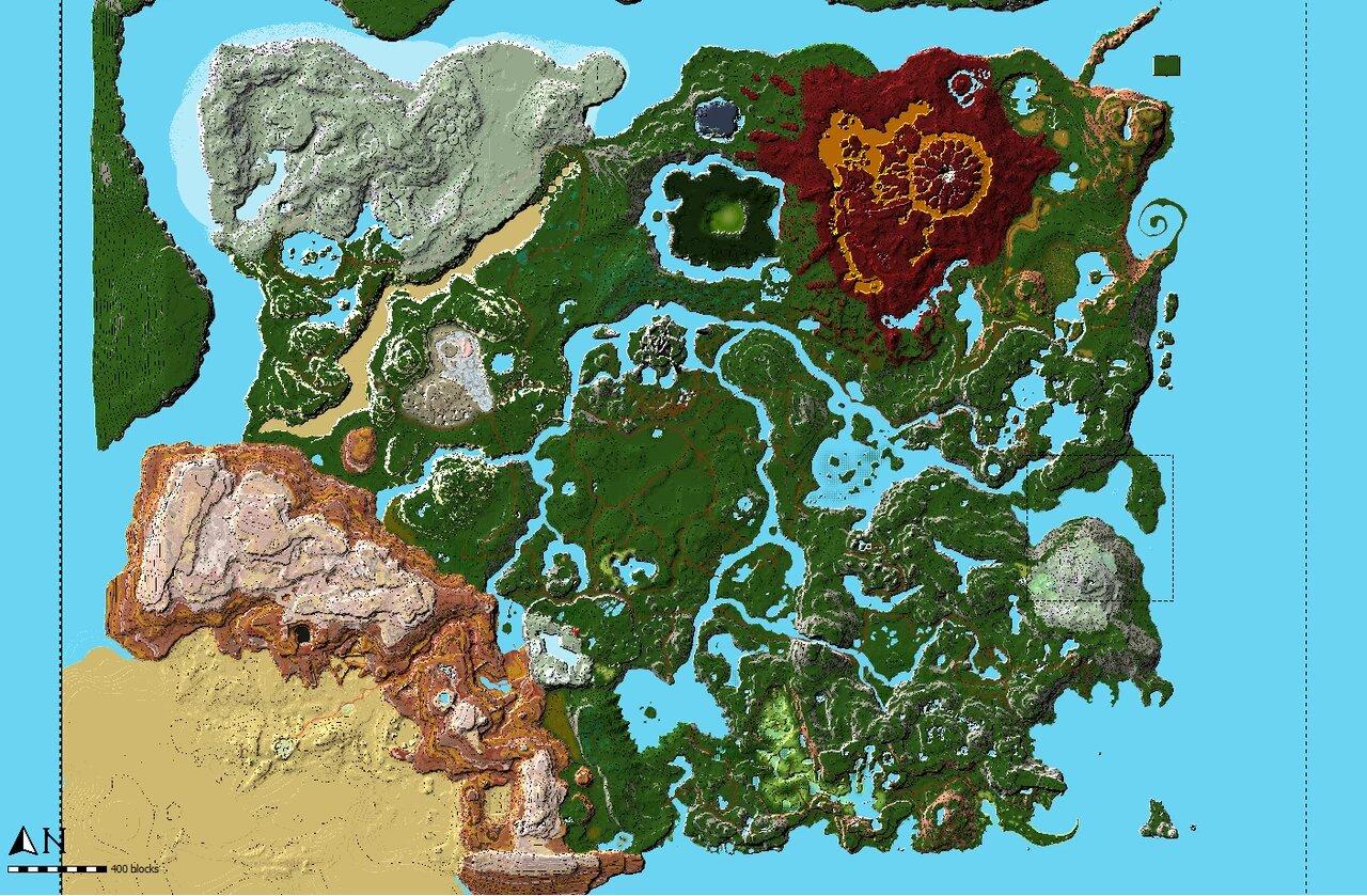 Масштабы поражают: игрок воссоздал в Minecraft Хайрул из The Legend of Zelda: Breath of the Wild