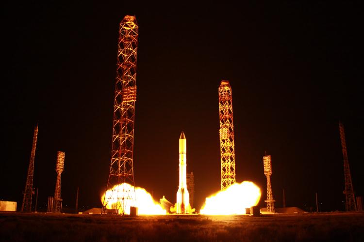 За 2020 год Россия провела 16 космических запусков