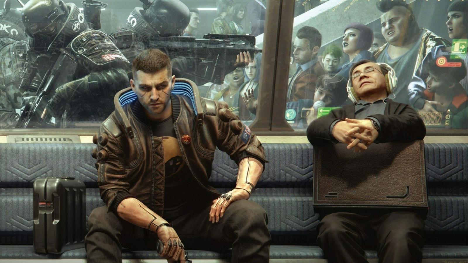Игрок обнаружил в Cyberpunk 2077 остатки полноценного метрополитена