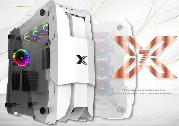 Представлен корпус Xigmatek X7 формата Super Tower с поддержкой видеокарт длиной до 480 мм