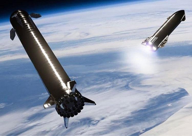 Илон Маск обещает ловить ракетные ускорители Super Heavy в воздухе «под ручки»