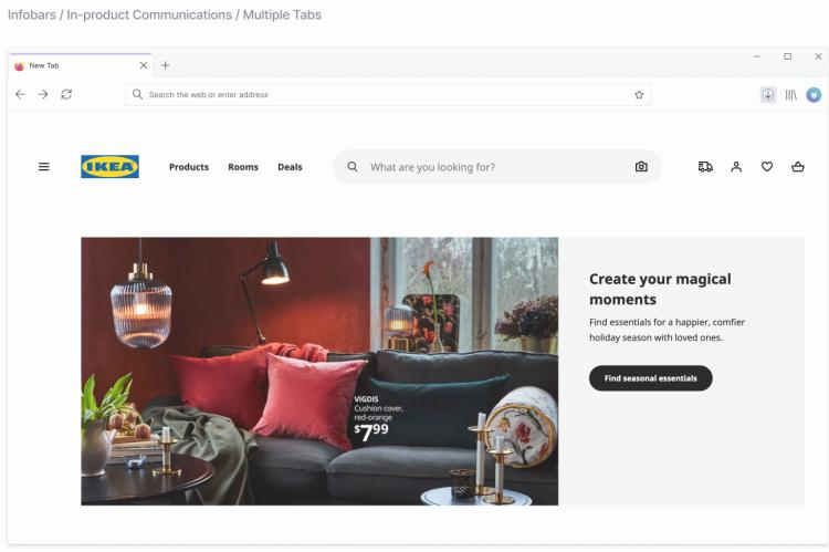 Mozilla работает над новым оформлением браузера Firefox