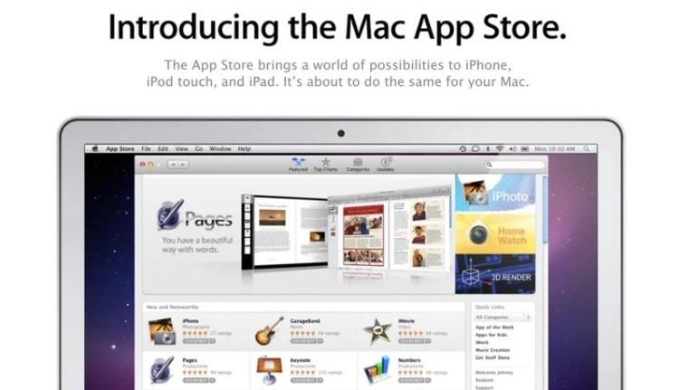 Магазину приложений Mac App Store сегодня исполнилось 10 лет