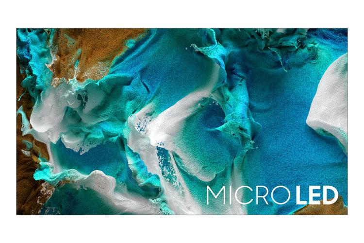 Samsung представила продвинутые телевизоры MICRO LED