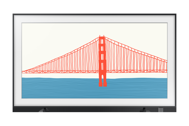Samsung представила телевизоры серии The Frame — они стали ещё тоньше