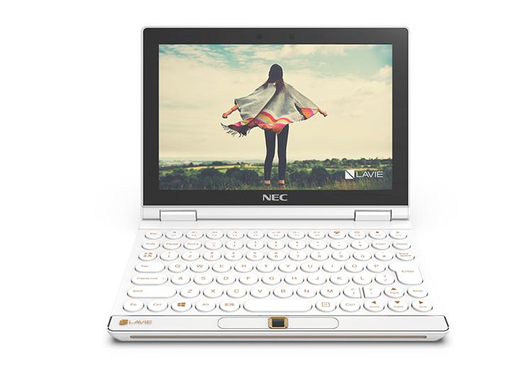 Представлен сверхкомпактный ноутбук NEC LAVIE MINI, который можно превратить в портативную консоль