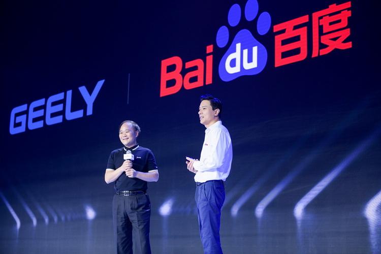 Baidu будет производить свои электромобили на мощностях Geely