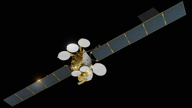 SpaceX запустила турецкий спутник связи Turksat 5A и успешно вернула первую ступень Falcon 9