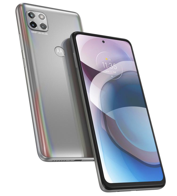 Представлен смартфон Moto One 5G Ace с поддержкой 5G и большим экраном за $399