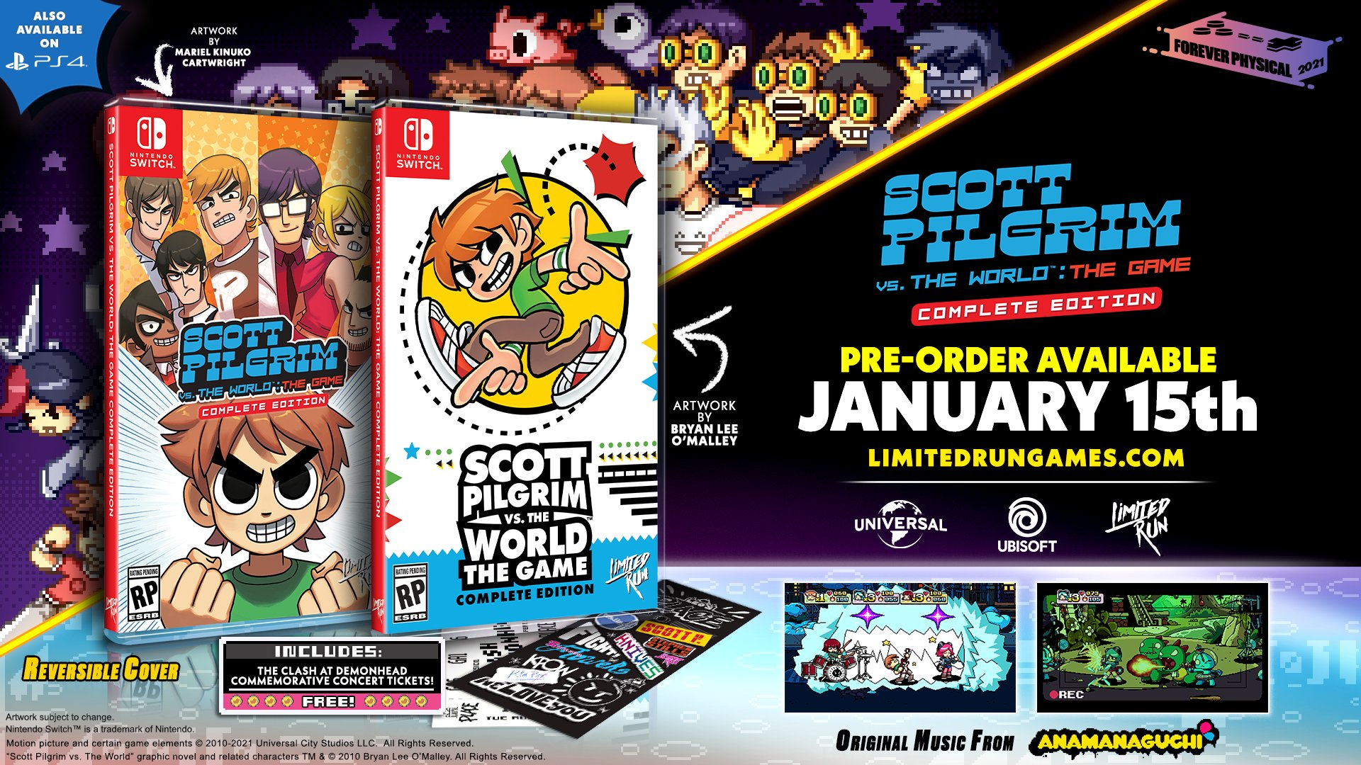 Limited Run Games выпустит ограниченные издания Scott Pilgrim vs. The World: The Game  Complete Edition