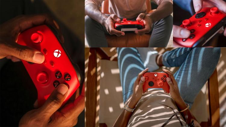 Microsoft представила новый дизайн геймпада Xbox в ярко-красной расцветке