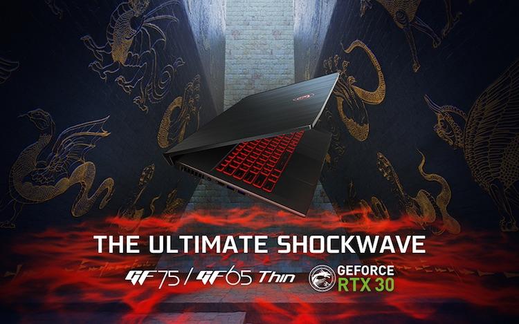 MSI представила множество мощных ноутбуков с видеокартами NVIDIA GeForce RTX 30-й серии