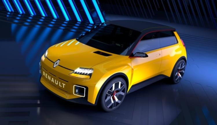 Культовый хэтчбек Renault 5 возродится в виде городского электромобиля