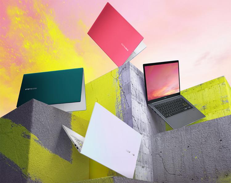 Новые ноутбуки ASUS VivoBook S оснащены чипом AMD и экраном NanoEdge
