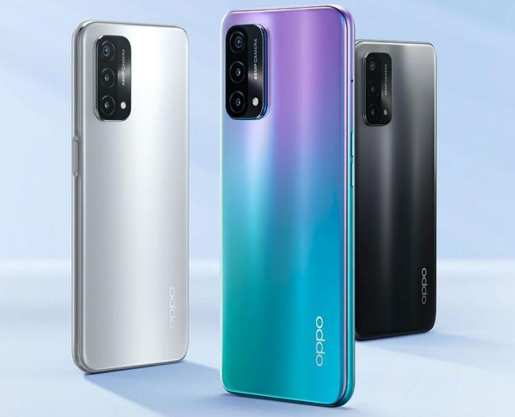 Представлен смартфон OPPO A93 5G с 90-Гц дисплеем и батареей на 5000 мА·ч