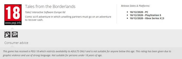 Tales from the Borderlands может выйти на PlayStation 5 и Xbox Series X и S