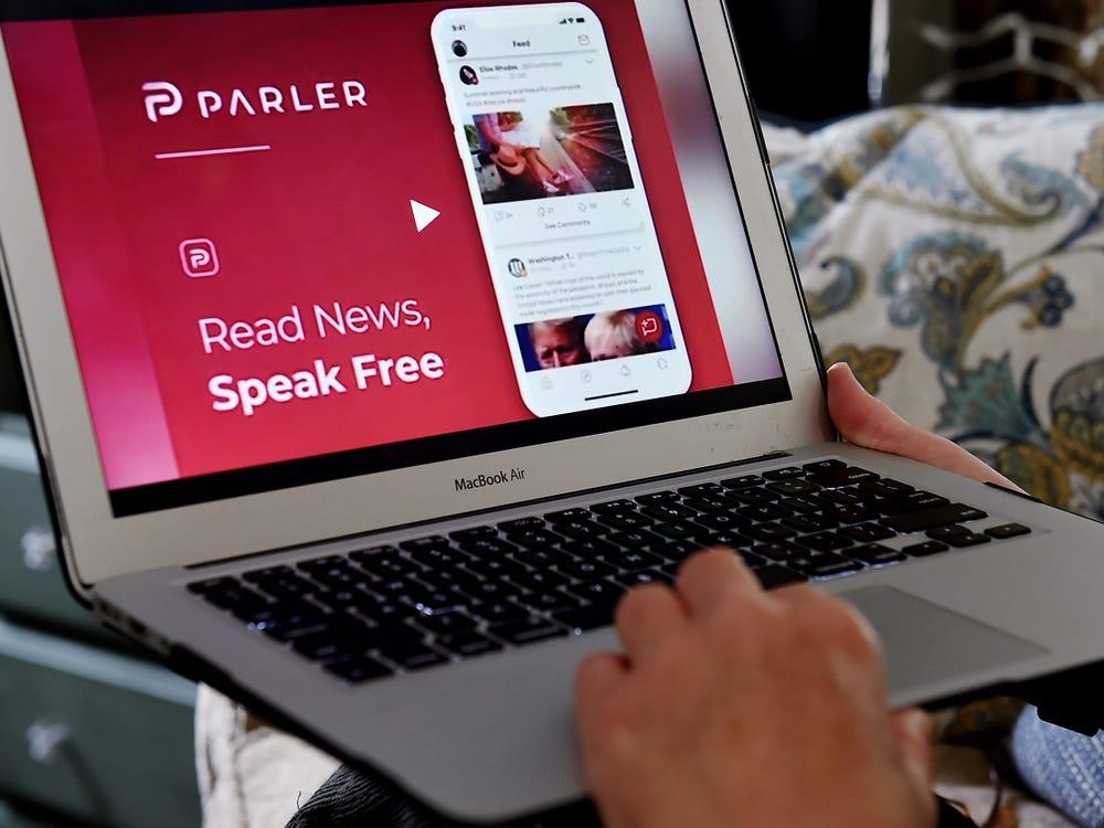 «Эта штука ещё работает?»: сайт соцсети Parler возобновил работу