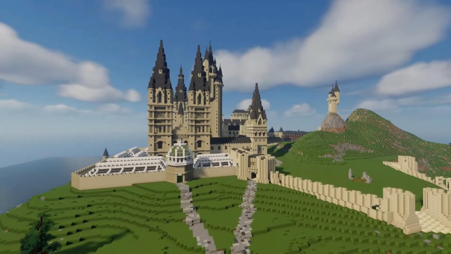 Видео: энтузиаст воссоздаёт в Minecraft точную копию Хогвартса из «Гарри Поттера»