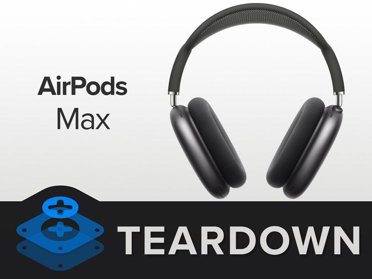 Починить наушники Apple AirPods Max будет не так сложно, заключили специалисты iFixit