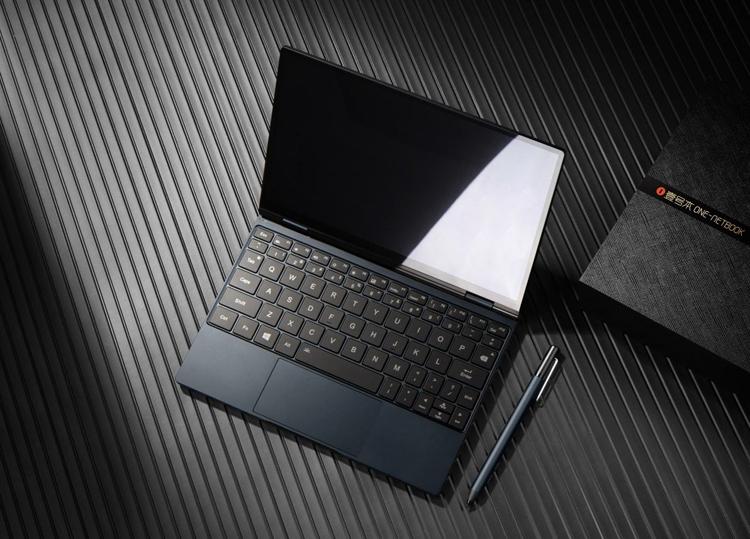 Трансформируемый мини-ноутбук One Mix 4 получил 10,1-дюймовый дисплей