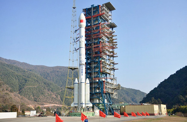 Китай открыл свой новый космический год успешным запуском спутника связи