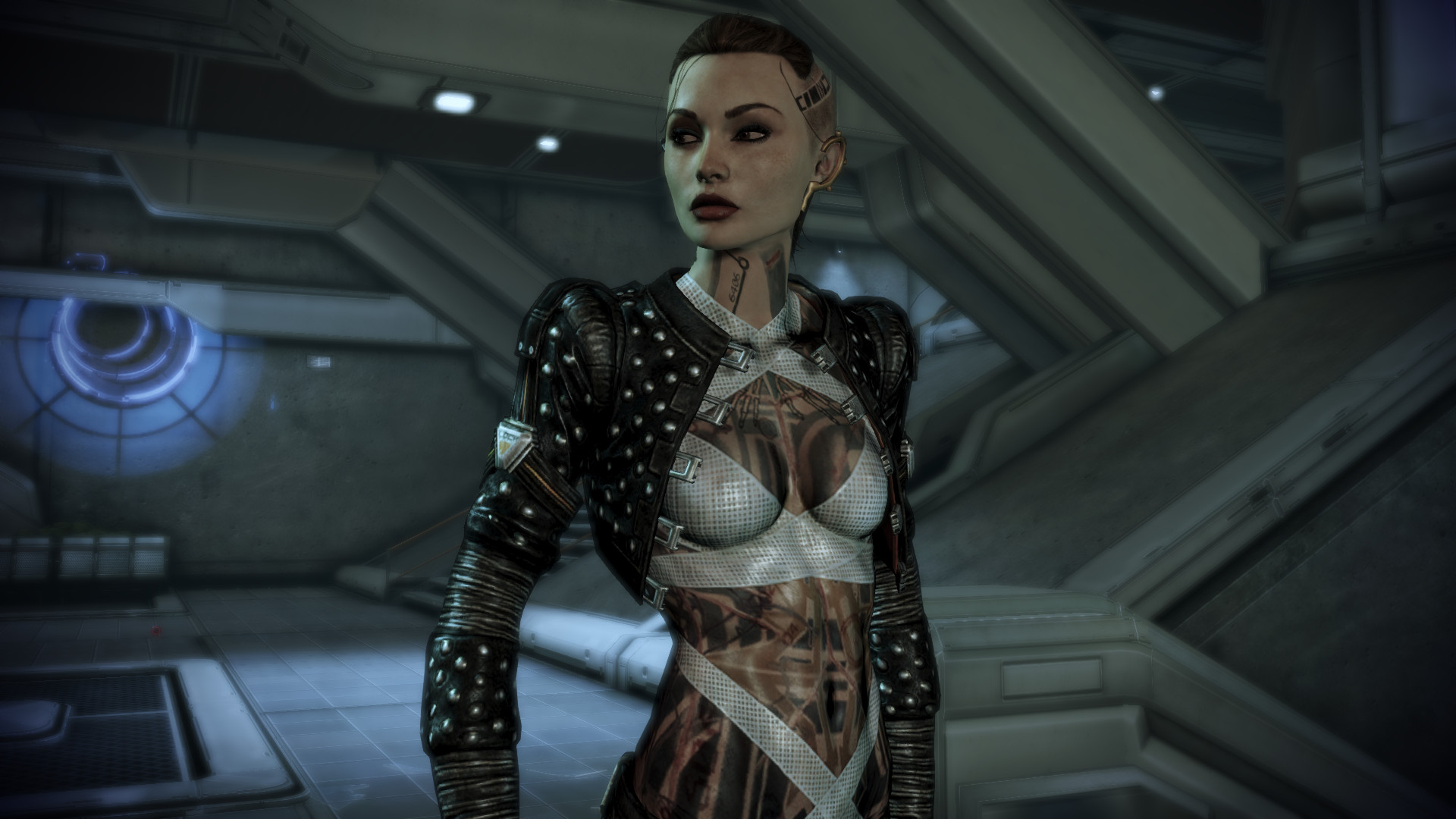 Из Mass Effect 2 вырезали однополые отношения с Джек из-за критики первой части на телевидении в США