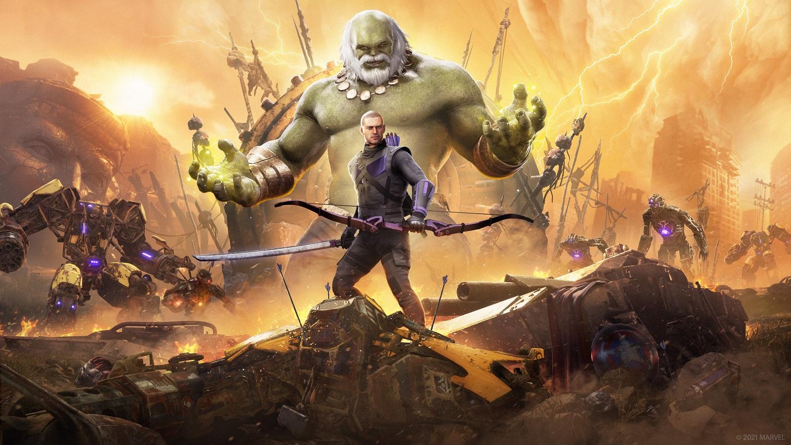 Разработчики Marvel's Avengers расскажут о Хоукае и версиях для консолей нового поколения 16 февраля
