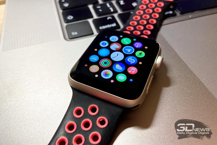 Новый патент Apple описывает совмещение блока тактильной отдачи и аккумулятора смарт-часов Apple Watch
