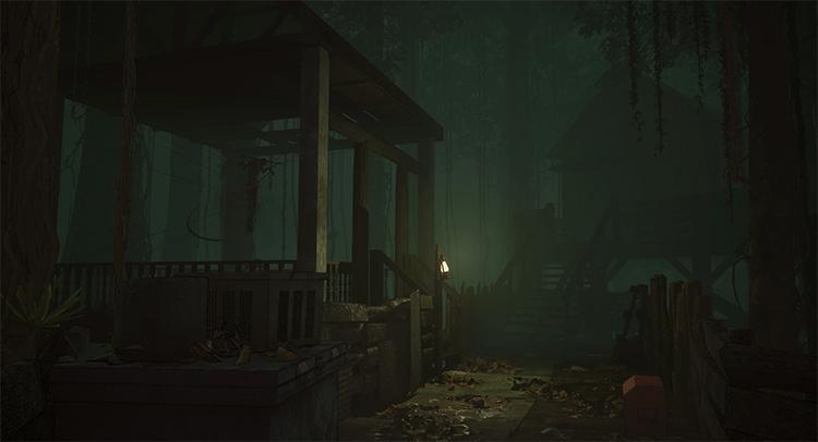 В многопользовательском ужастике Home Sweet Home: Survive один призрак будет охотиться на 4 выживших
