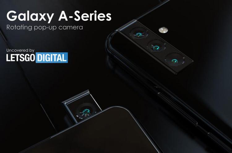 Samsung придумала смартфон с поворотно-выдвижной камерой