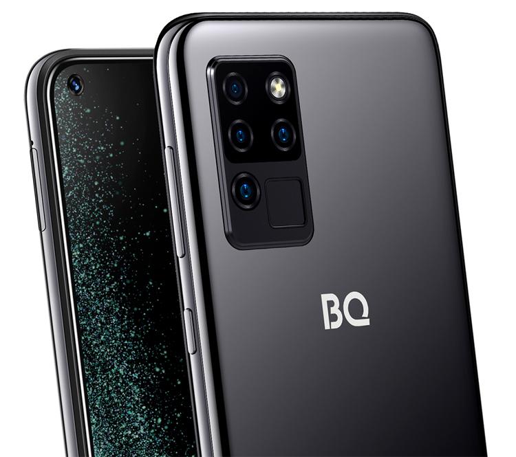 Вышел смартфон BQ 6430L Aurora с квадрокамерой по цене 9990 рублей