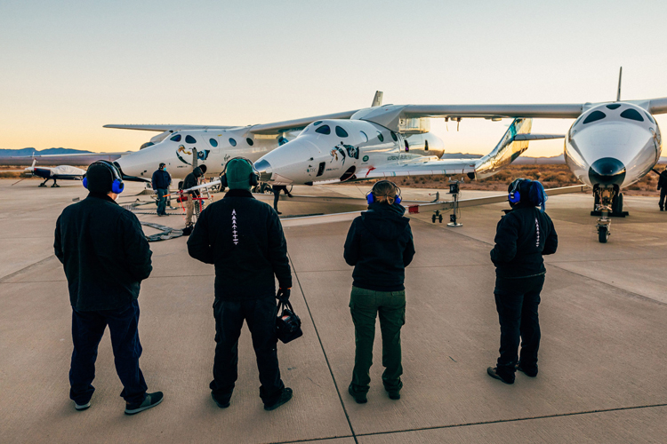 Virgin Galactic проведёт лётные испытания туристического космического корабля VSS Unity до конца февраля