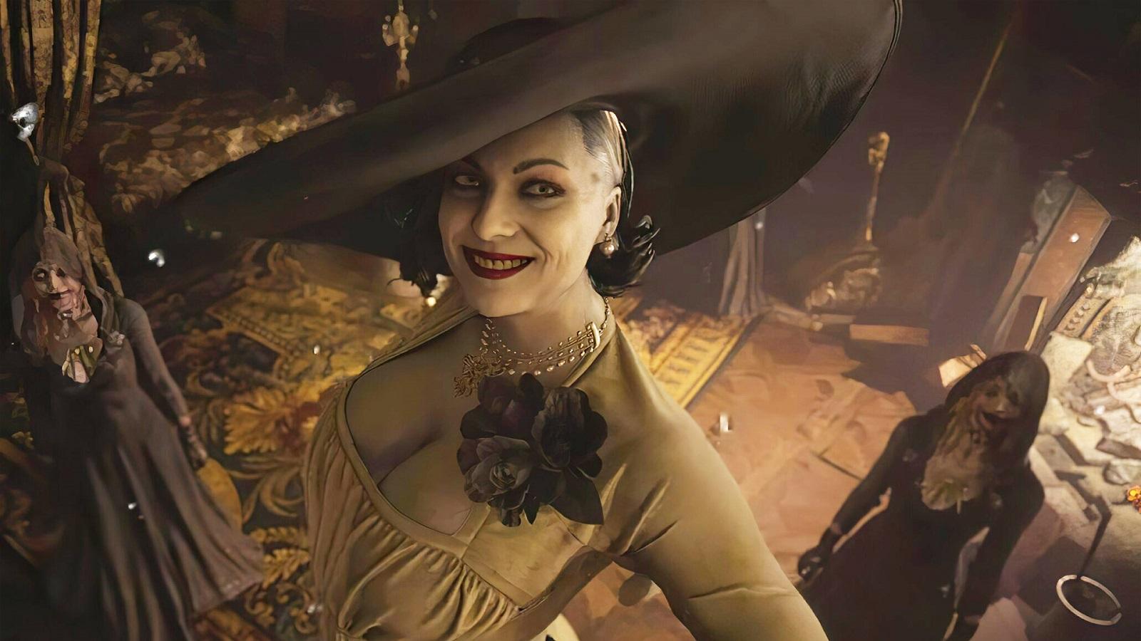 Capcom назвала официальный рост леди Димитреску из Resident Evil Village — дама оказалась даже выше, чем предполагали
