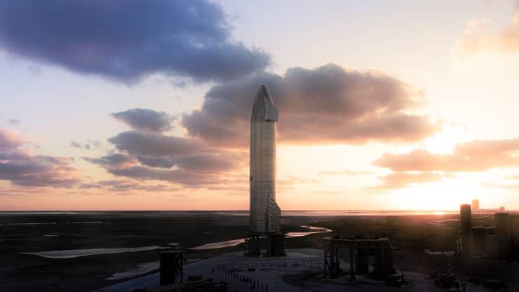 Очередной прототип космического корабля SpaceX Starship взорвался при посадке