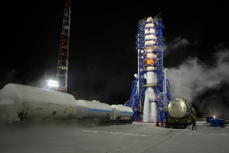 Успешно запущена ракета «Союз-2.1б» с российским военным спутником