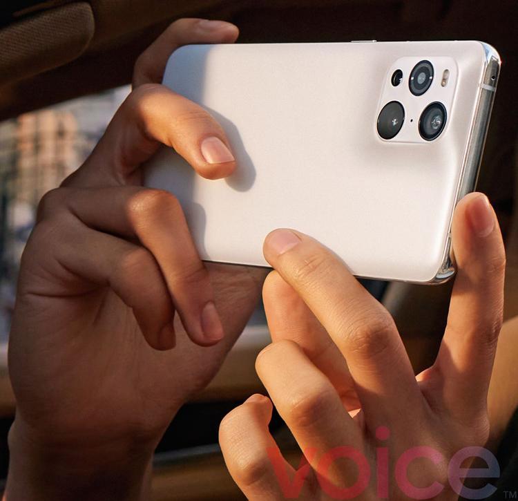 Флагманский смартфон OPPO Find X3 Pro впервые показался на пресс-изображениях