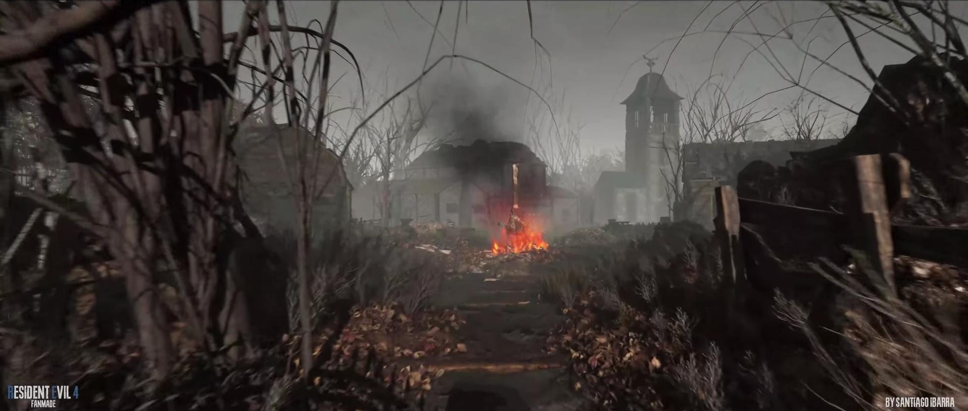 «Выглядит замечательно»: 3D-художник воссоздал деревню и другие локации из Resident Evil 4 на Unreal Engine 4