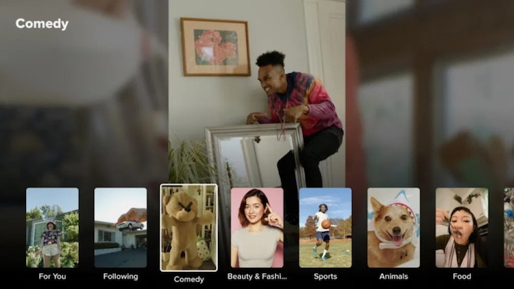 TikTok стал доступен на телевизорах с Google TV и Android TV